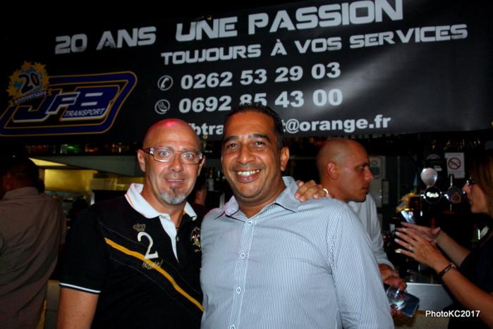 Michel Gérant du O' Bar et J.F Bovalo