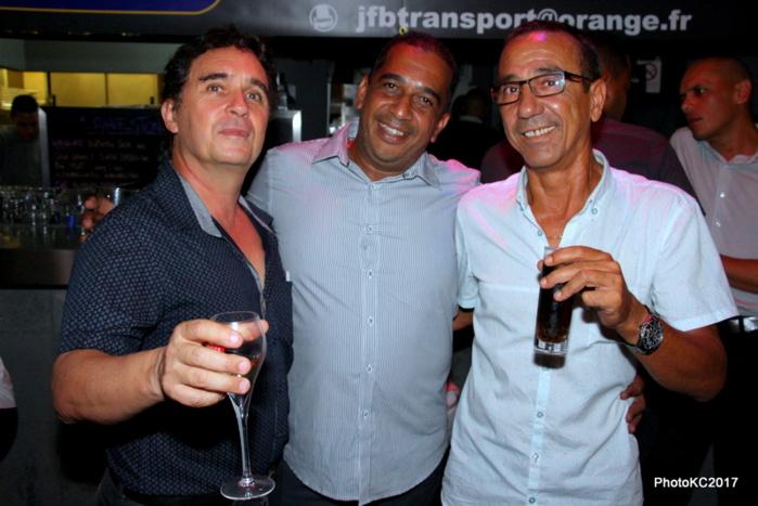 Dr William, JF Bovalo et Johnny Legros Pompier
