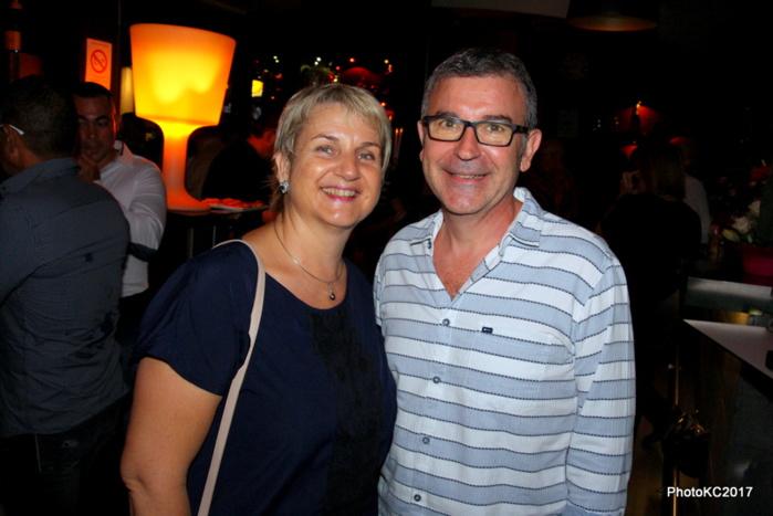 Rose et Didier Legendre de Cotrans Automobiles