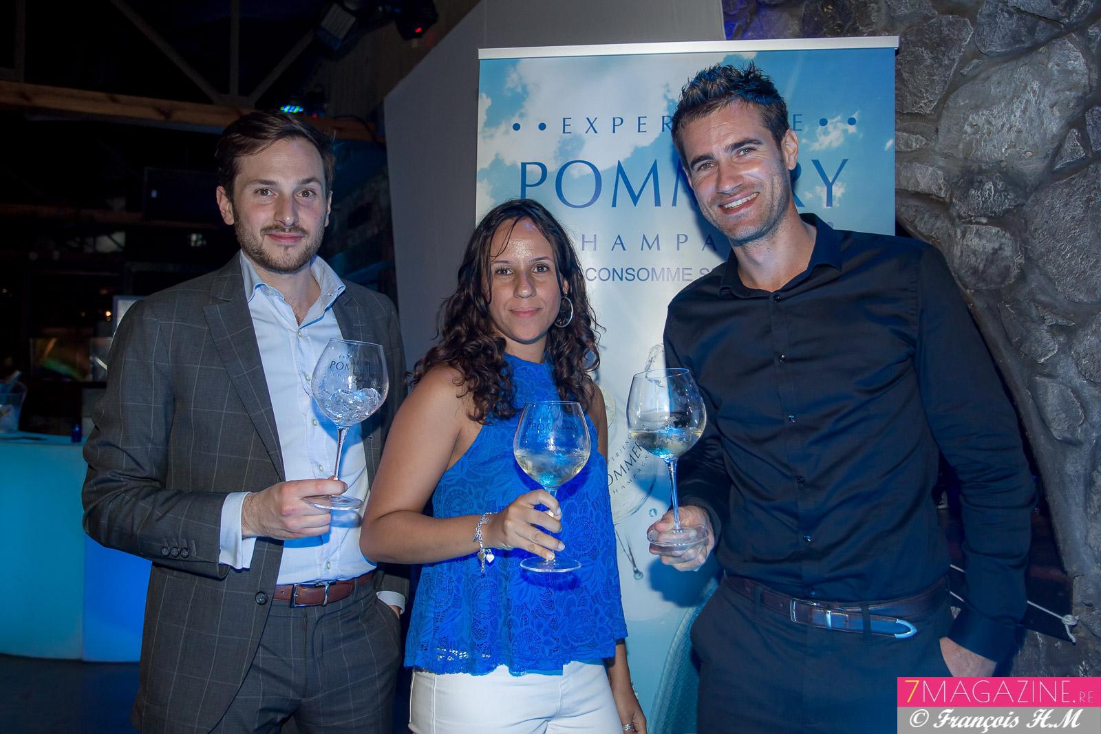 Pommery Blue Sky: dégustation sur glace!