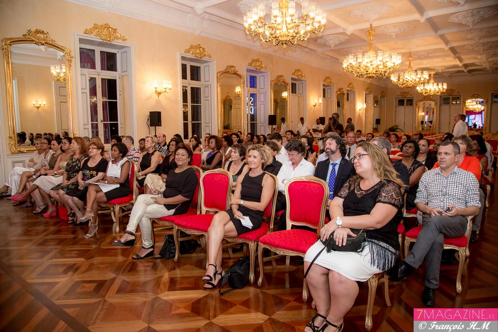 La remise des prix a eu lieu à l'Hôtel de Ville de Saint-Denis