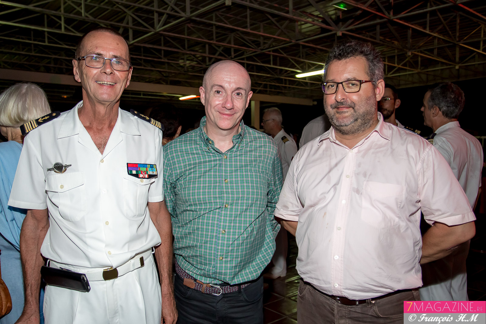 Bernard Salva, Docteur Eric Gamelin, psychiatre des hôpitaux, et Hervé Charlanes, expert-comptable