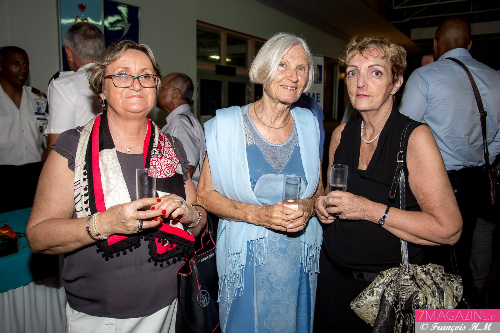 Elisabeth Martinazzo, Anne-Marie Polenyck, et Martine Dubois
