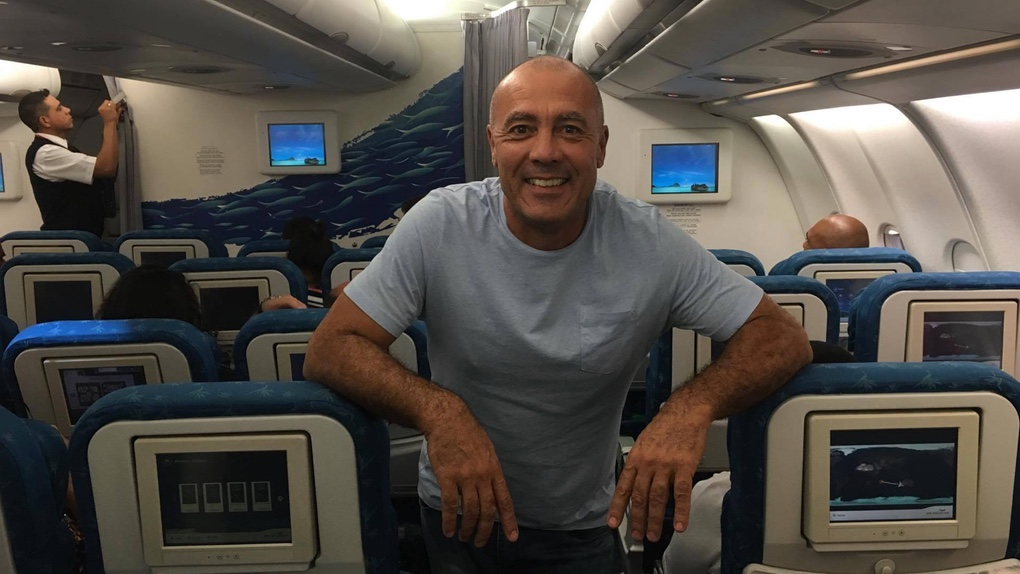 Dominique Barret en route vers l'Australie