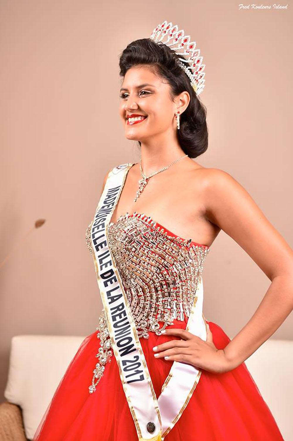 Elle participe à Mademoiselle France le 1er avril