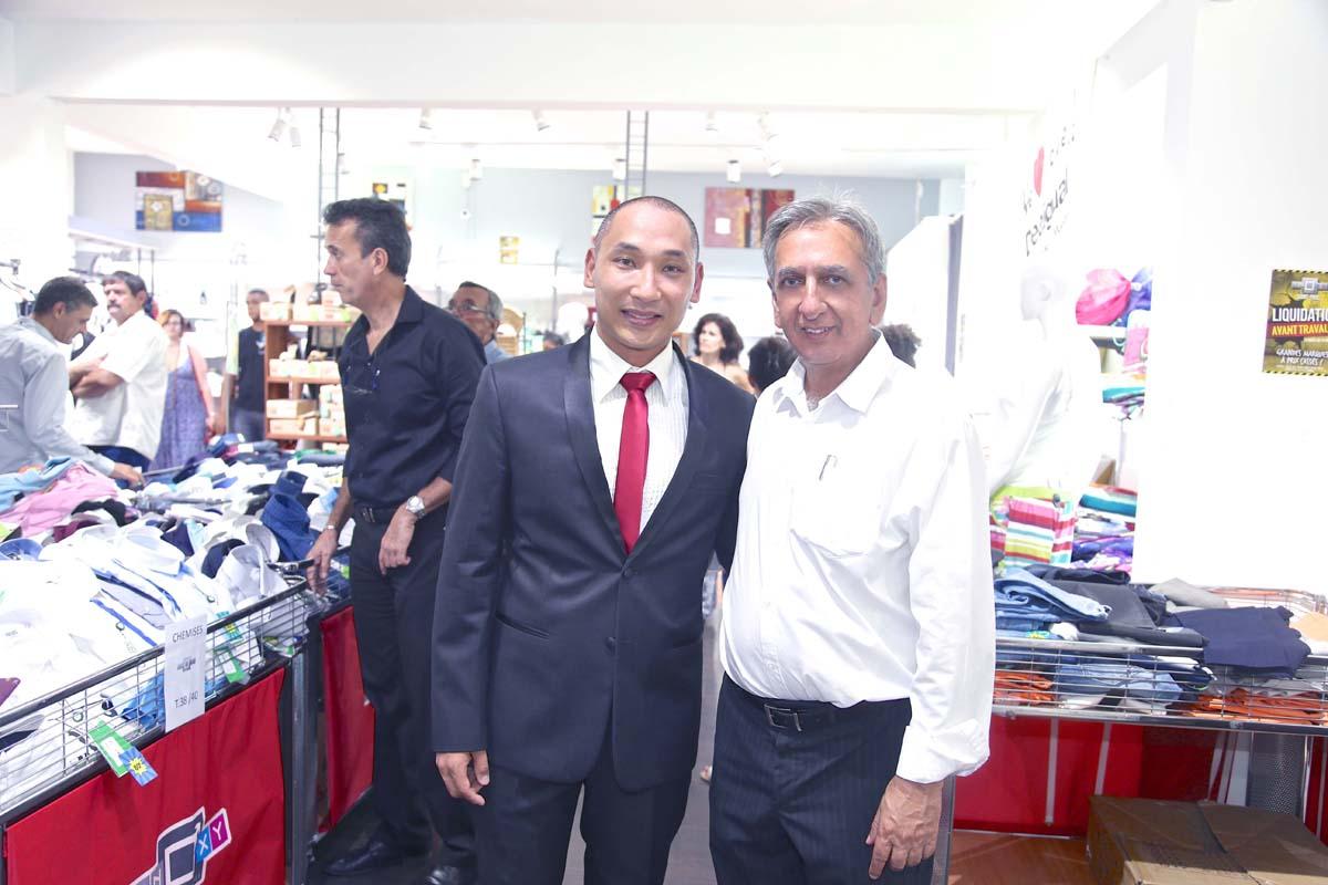 Mathieu Sieng Ti Woane et Aziz Patel