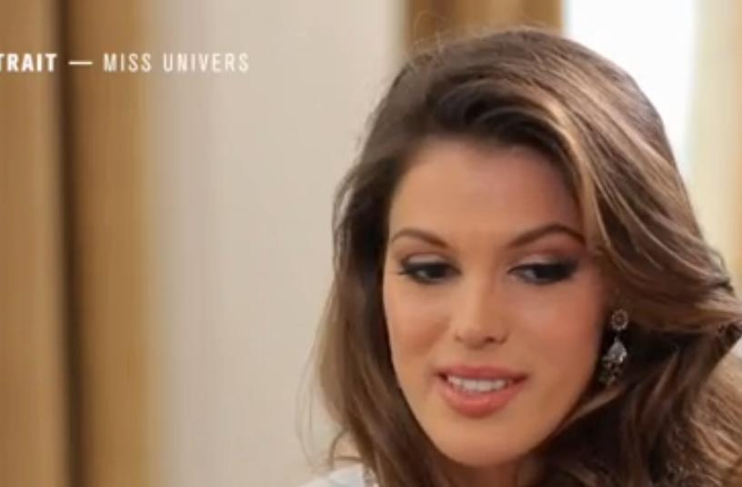 Miss Univers au bord des larmes dans 50 Minutes Inside