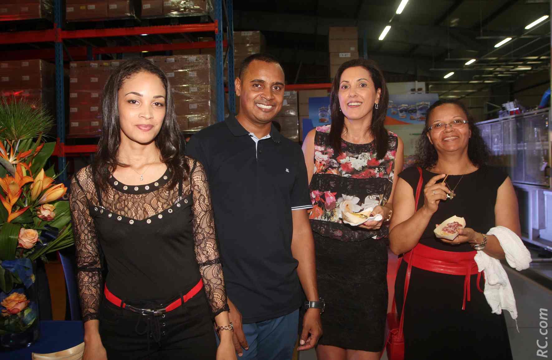 Le personnel Grand Sud Productions avec des partenaires