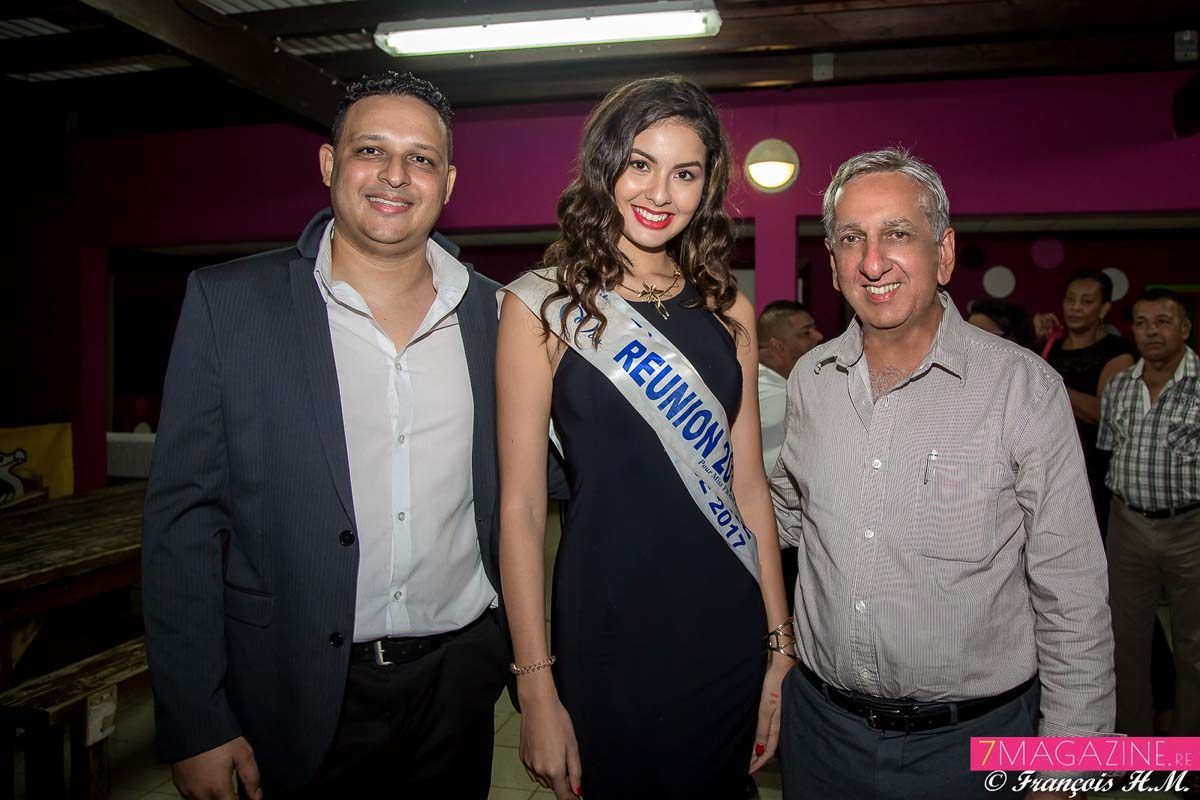 Johan, Ambre et Aziz Patel