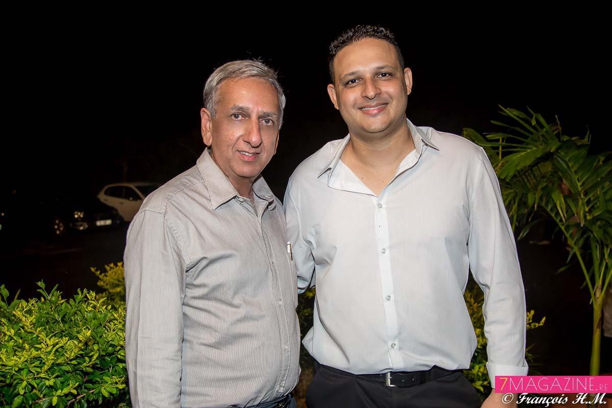 Aziz Patel et Johan Guillou