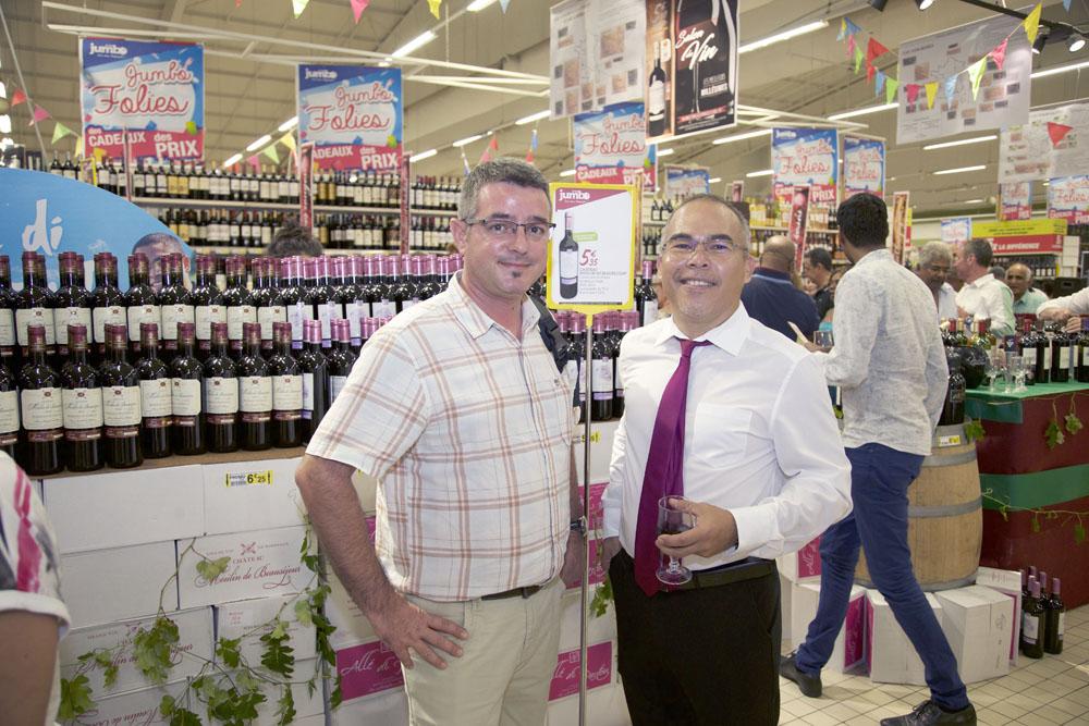 Avec Mr Tartaud, acheteur Vindémia