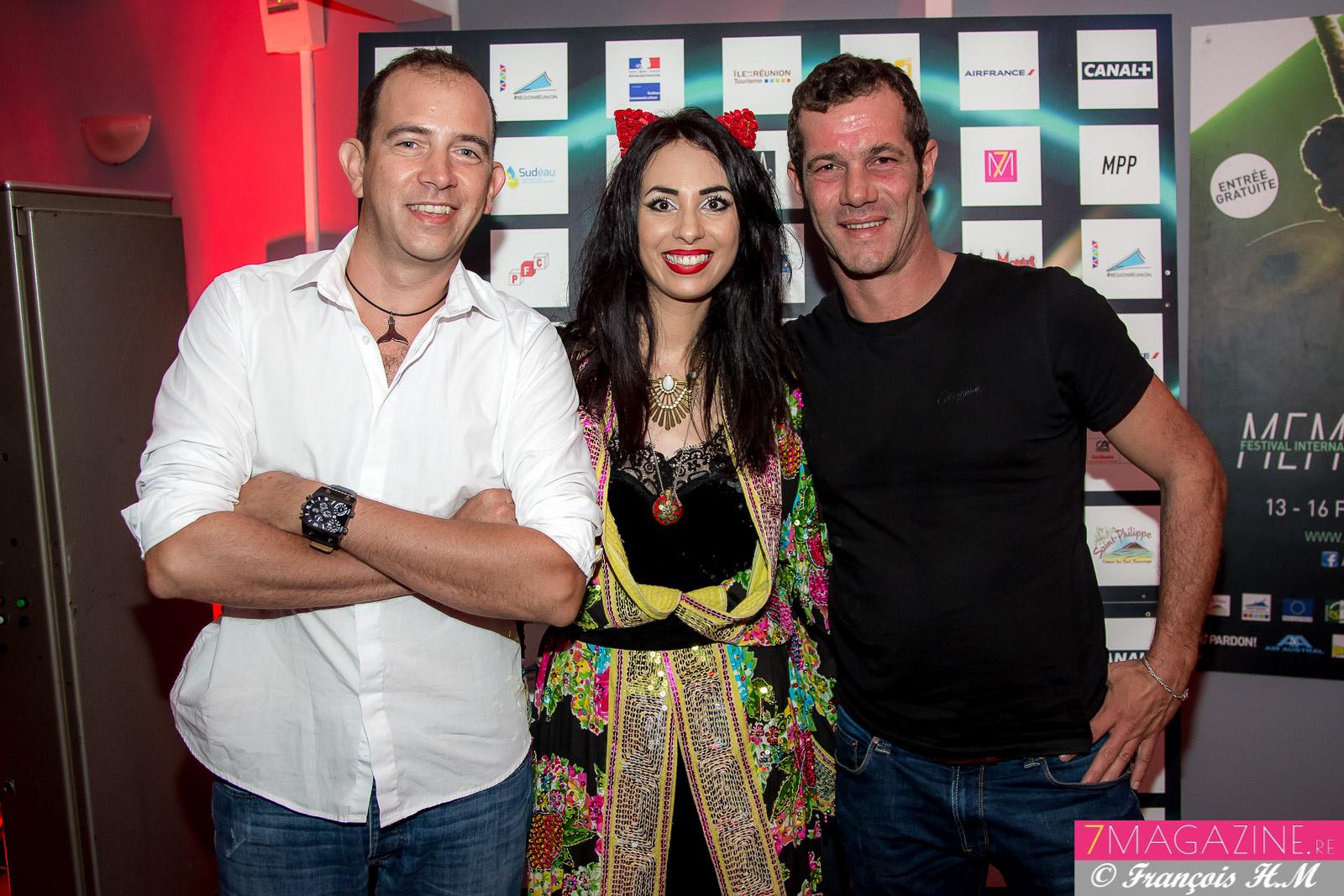 Yann Lauret et David Bichet, producteurs chez Blyd Factory, partenaire du Festival