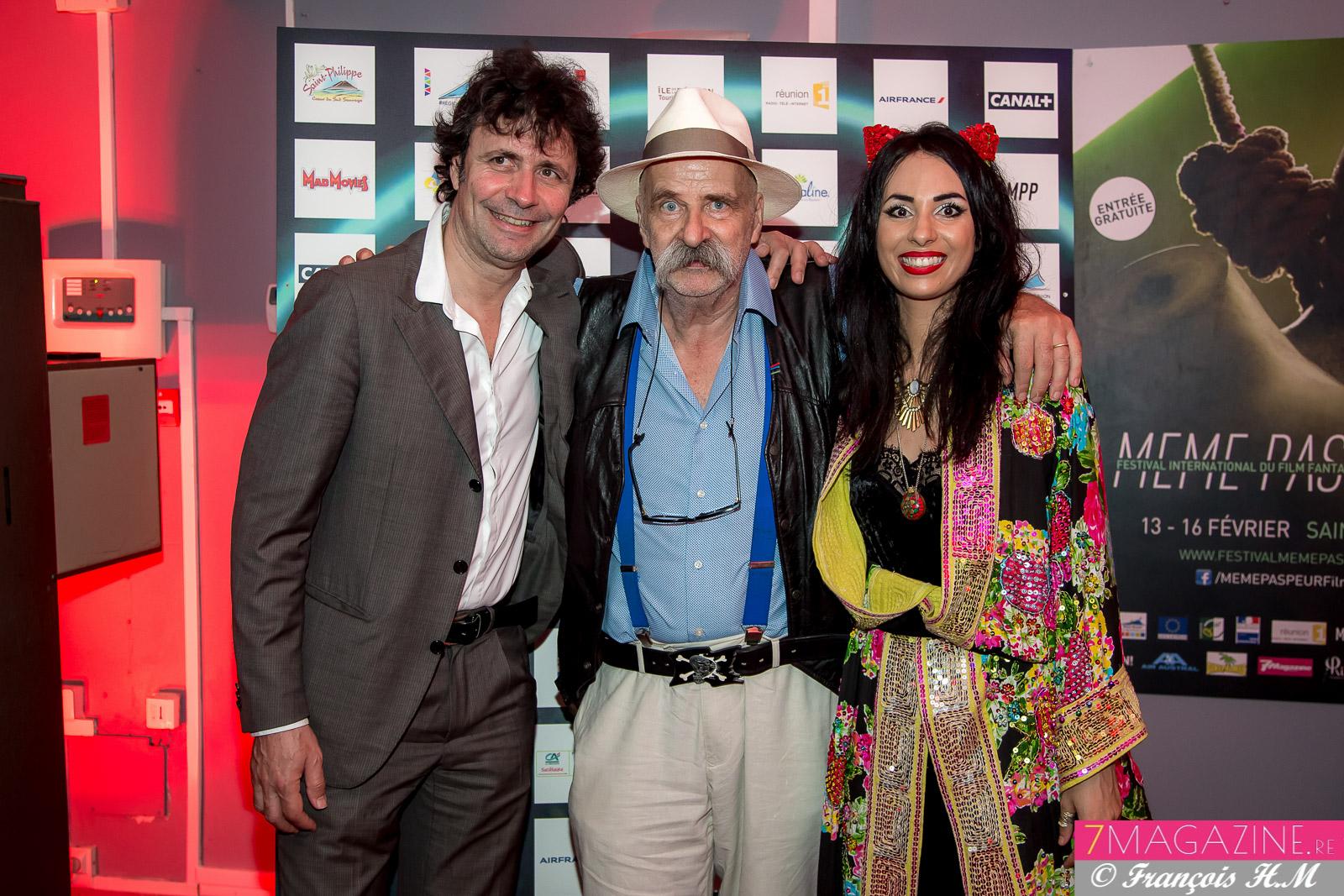 Christophe Carrière, Vincent et Aurélia Mengin