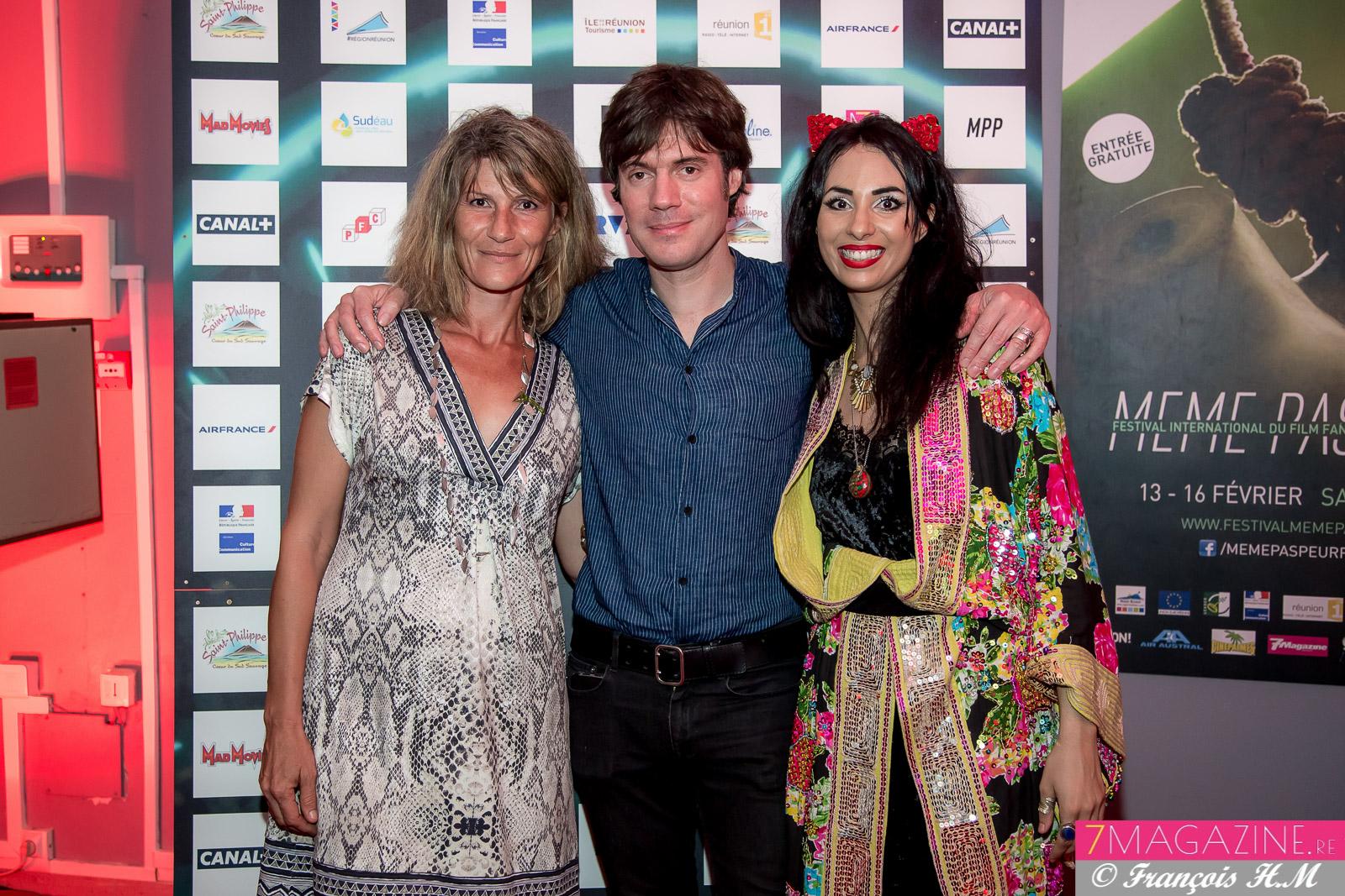Laurence Donat, Nicolas Stanzick et Aurélia Mengin