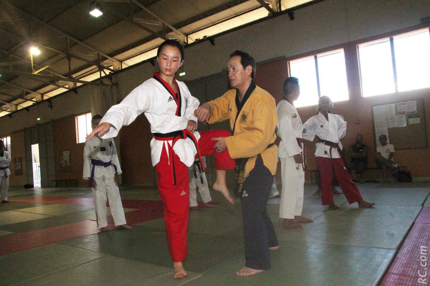 Les précieux conseils de Maître Vipaul Huo Young à Emmanuelle Ah-Pine