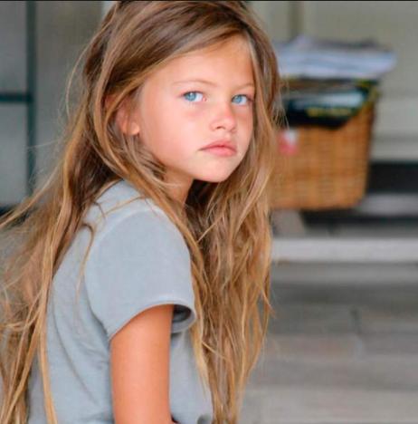Thylane à 10 ans