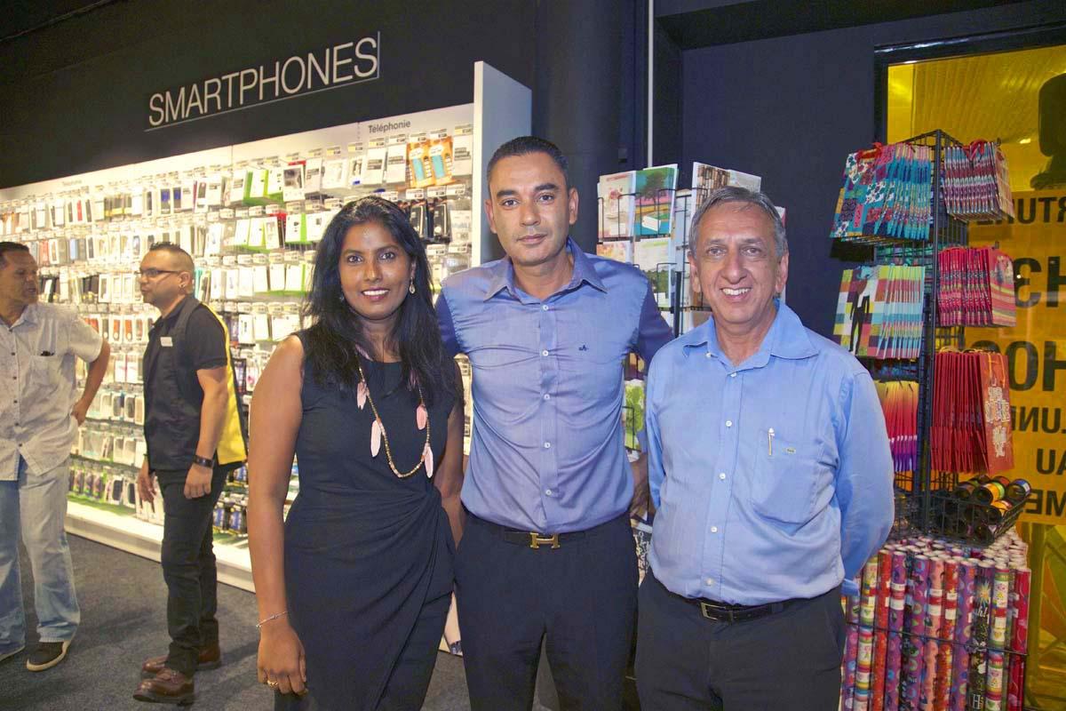 Nathalie Govindin, Teddy Adeler, et Aziz Patel