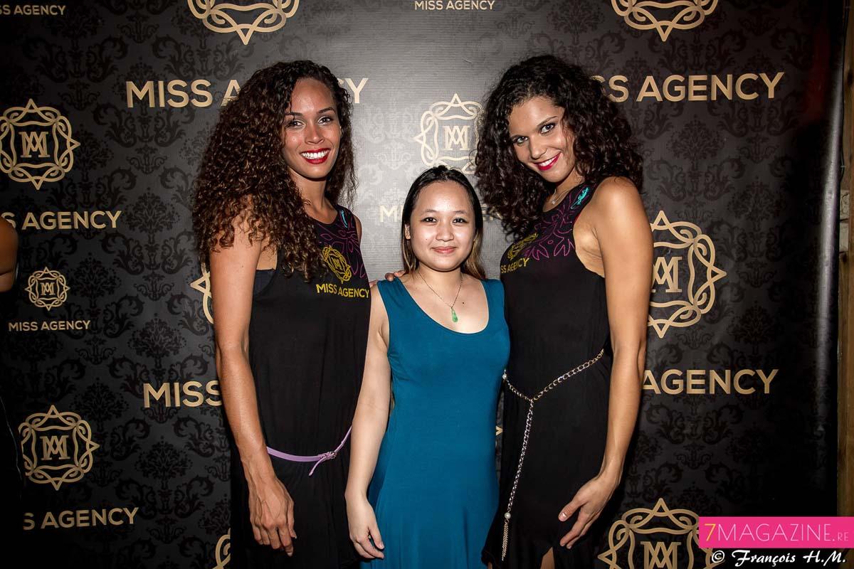 Florence Arginthe, Miss Réunion 2010, Laetitia Ho-Mouye, et Vanille M'Doihoma