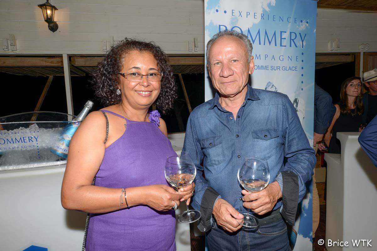 Liliane Bertil et Philippe Lauret, du Restaurant Le Saint-Bernard à La Montagne