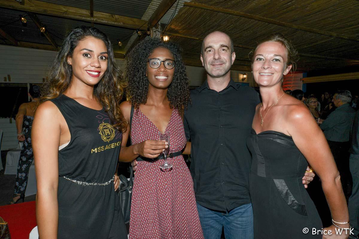 Apaméa, Christine, formatrice, Frédéric Lemoosy, directeur de Moving et Fitness Park, et Karine, directrice Fitness Park Saint-André