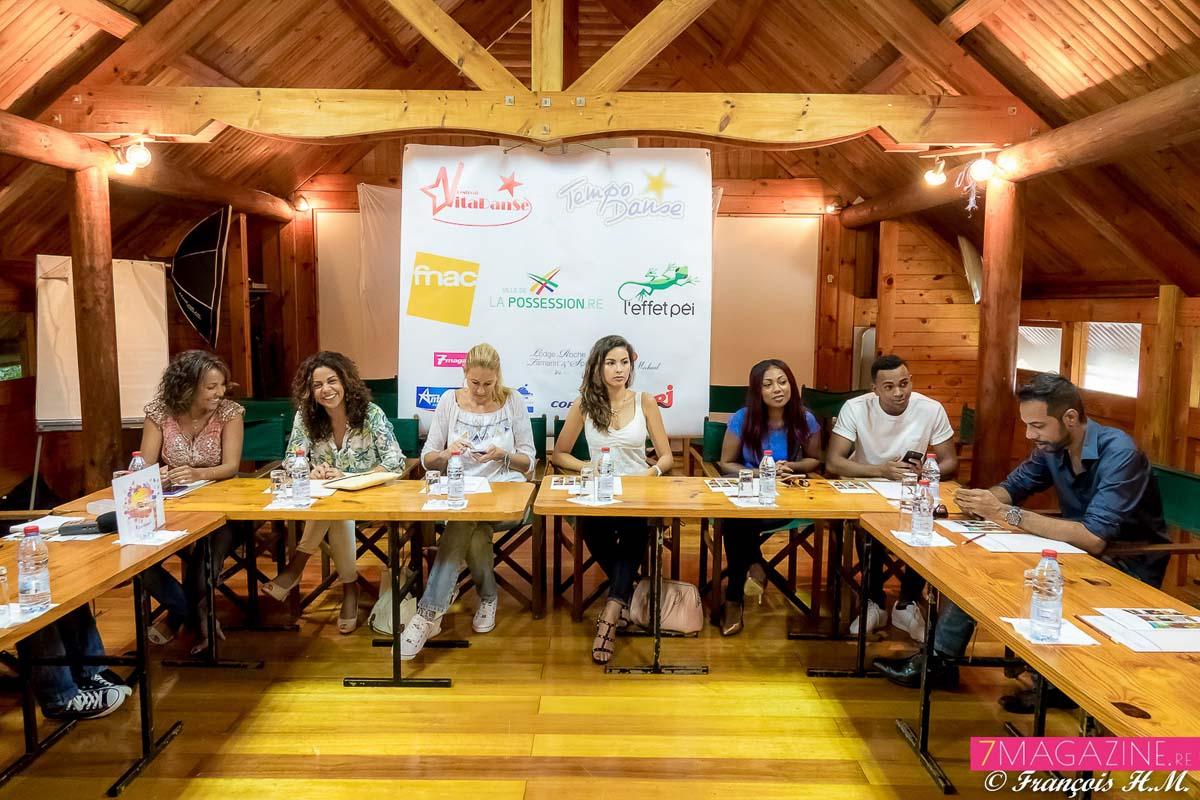 La présentation de l'événement a eu lieu au Lodge Tamarin La Possession