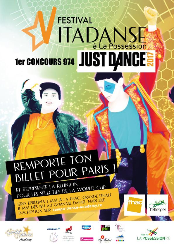 Festival Vitadanse à La Possession: 8 stars péi vont danser!