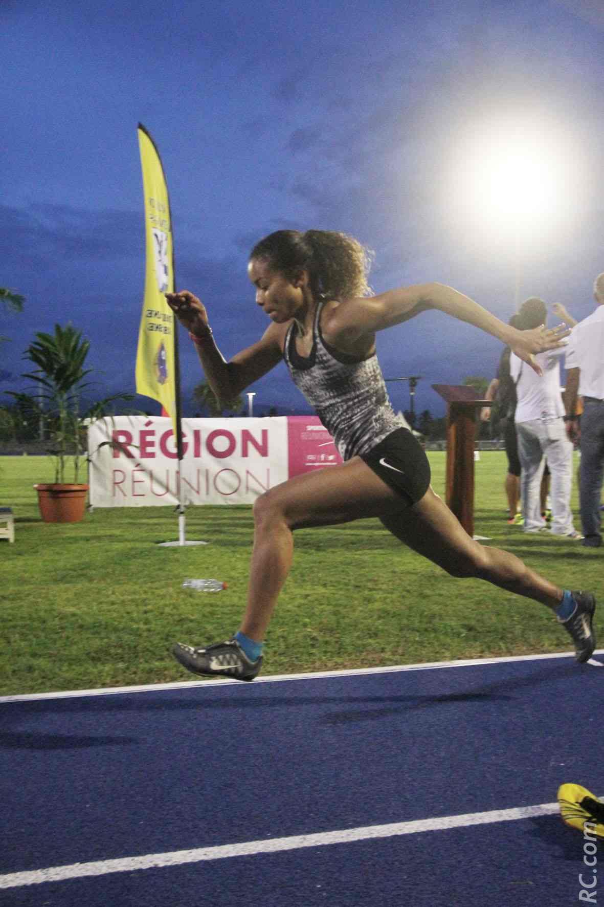 Darlène Mazeau réussit 5,69m à la longueur