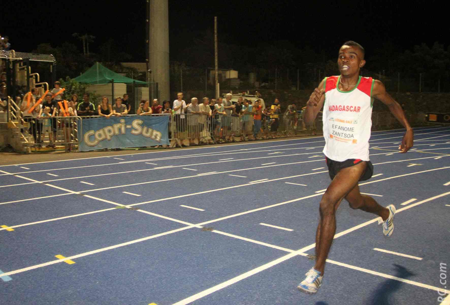 Le malgache Effanome 2ème sur le 1500m