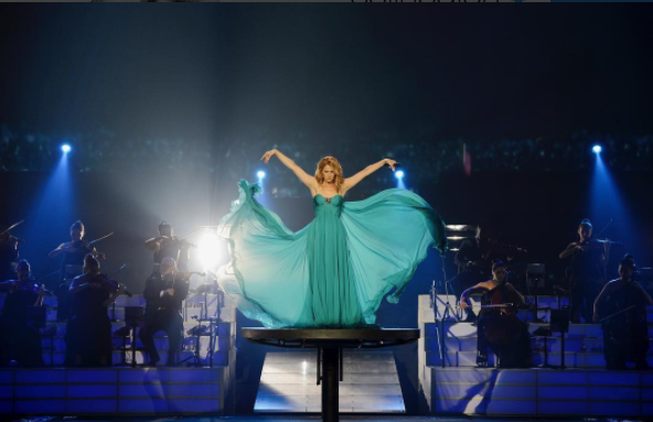 Céline Dion capricieuse?