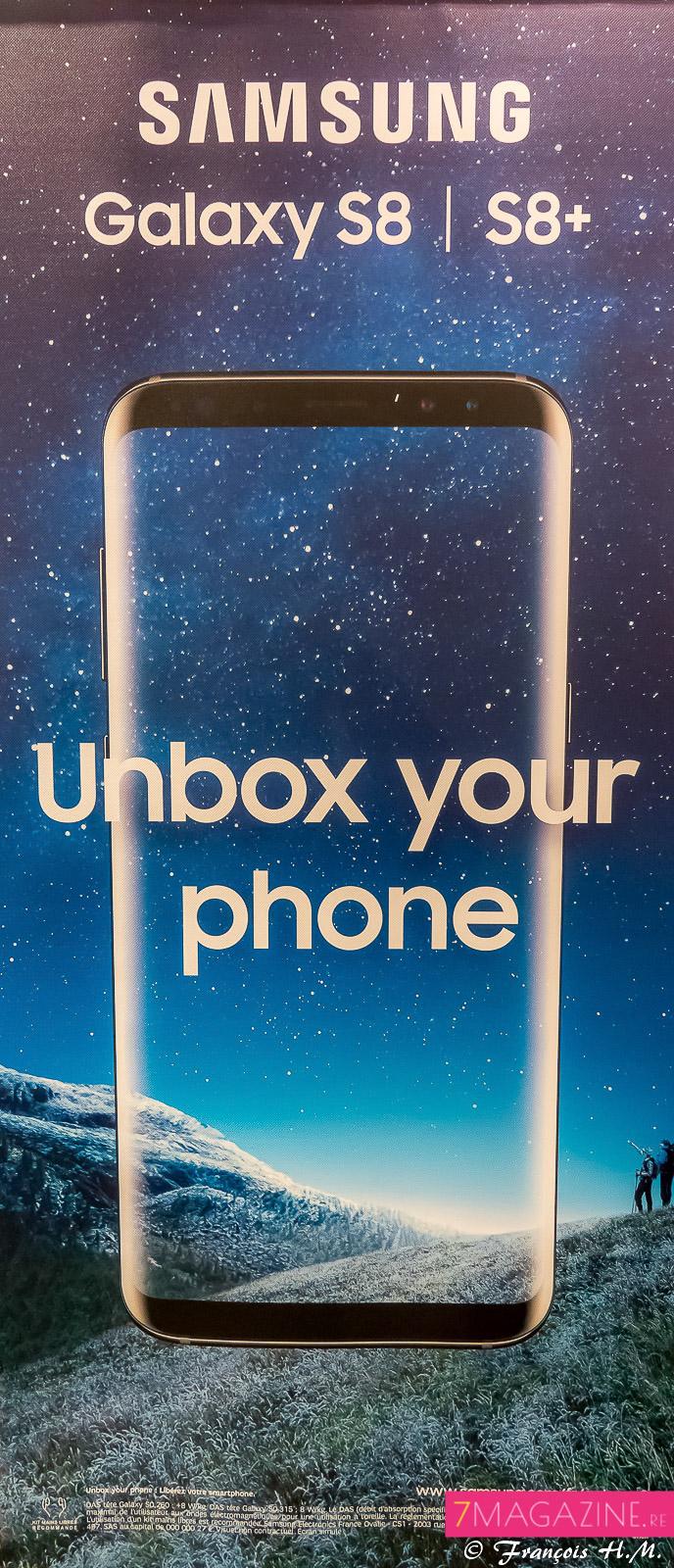 Le nouveau Galaxy S8 est lancé