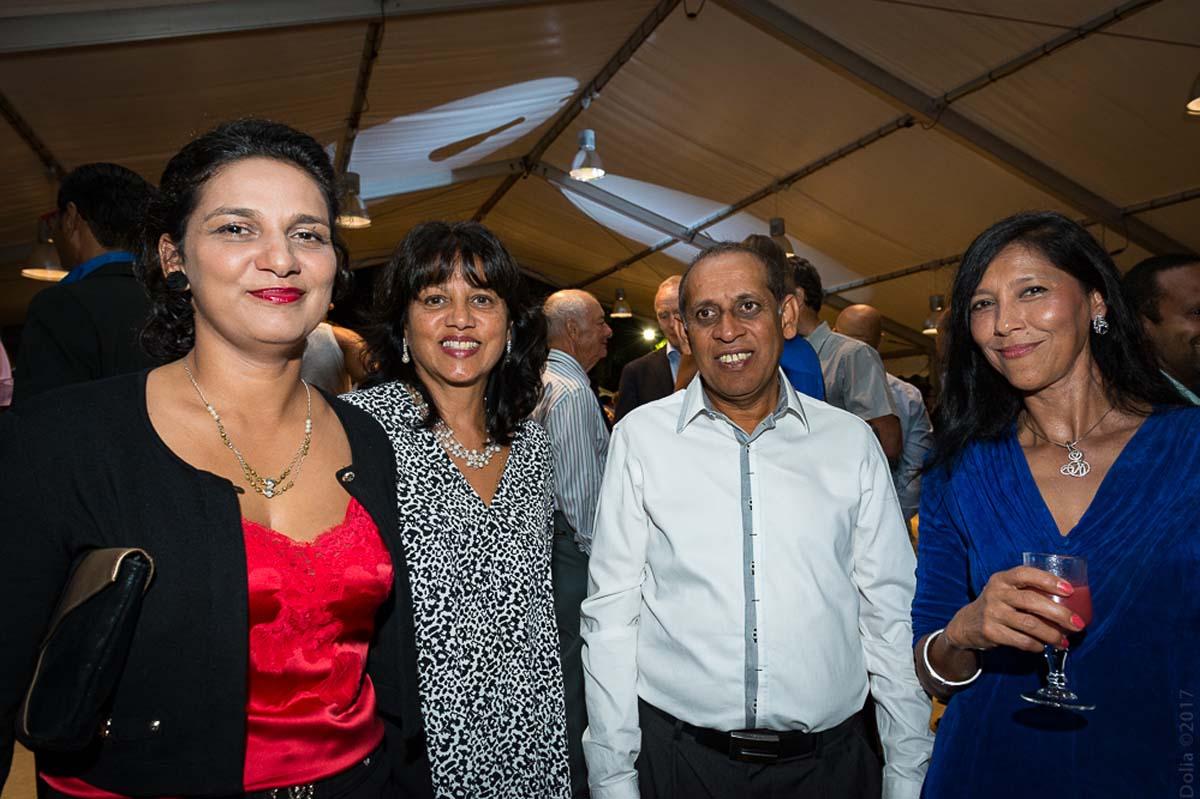 Mariam Locate, architecte, Nasrine et Ibrahim Patel, commerçant, et Elisemène Tambouran
