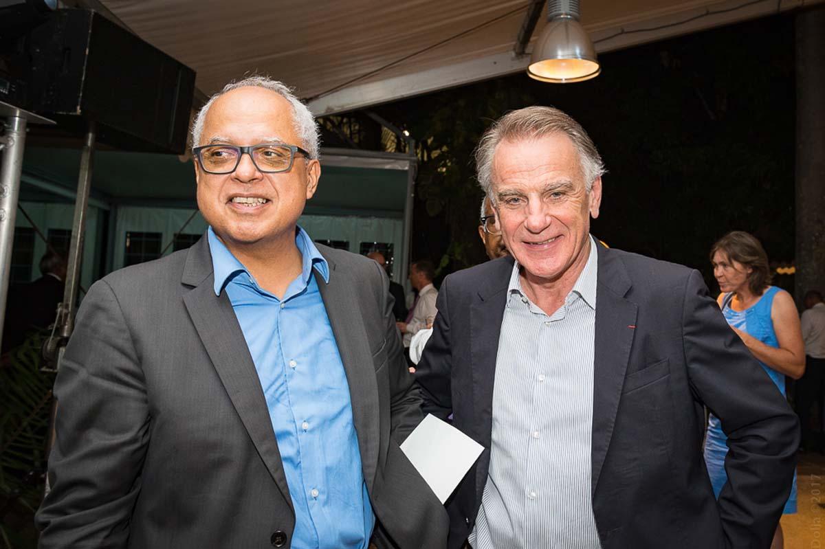 Didier Fauchard, président du Medef, et Jack Bouin