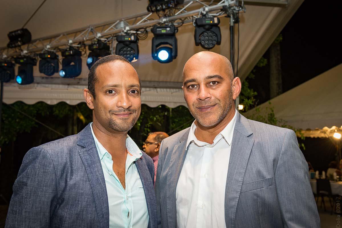 Reshad Ghanty, gérant de Camaïeu et Morgan, et Yachine Ghanty, directeur général du groupe Ghanty