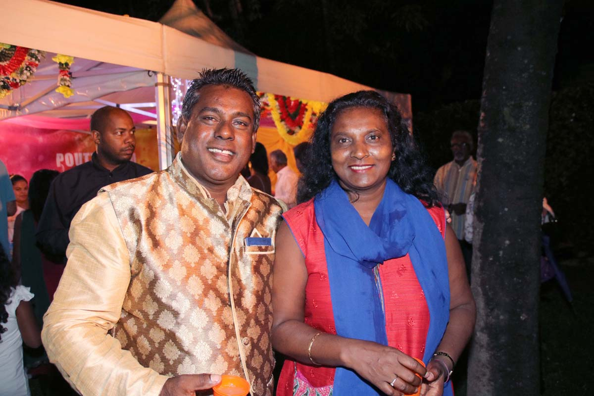 Soirée de l'An tamoul à la Villa du Département