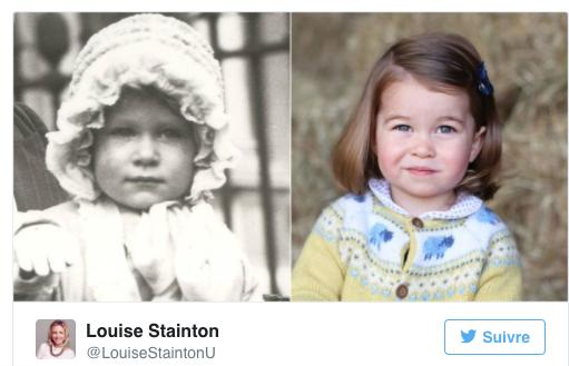 Une nouvelle photo de petite Princesse Charlotte