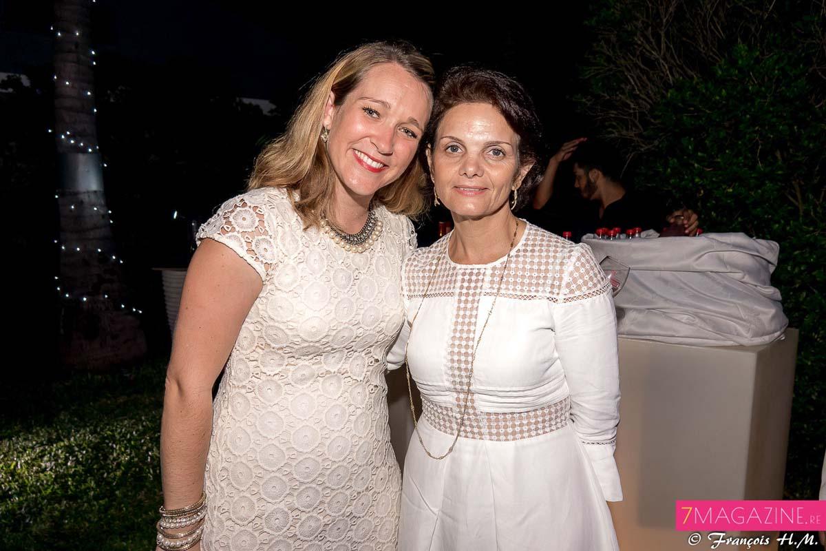 Elvina Enouf et Sylvie Rivière, l'épouse de Bobby (Freedom)