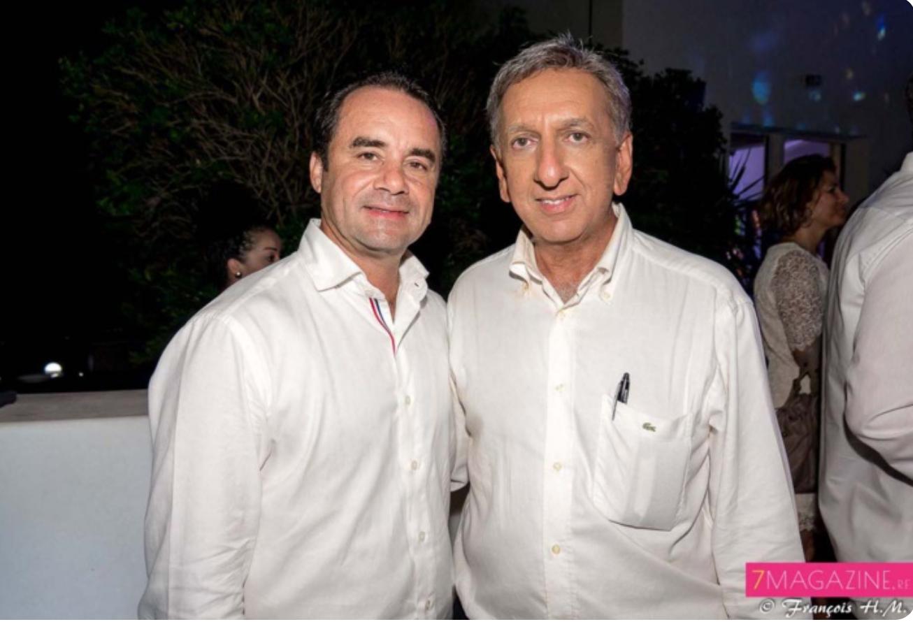 Nicolas de Chalain et Aziz Patel se connaissent depuis plus de vingt ans!