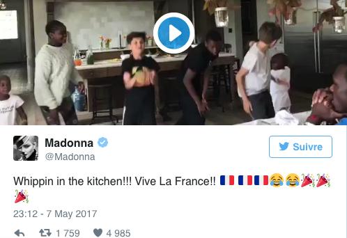Les stars internationales félicitent le nouveau président français