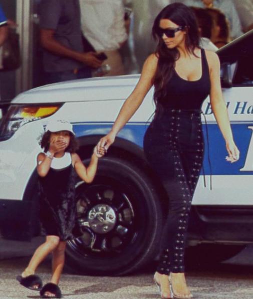 Photo : Instagram Kim Kardashian