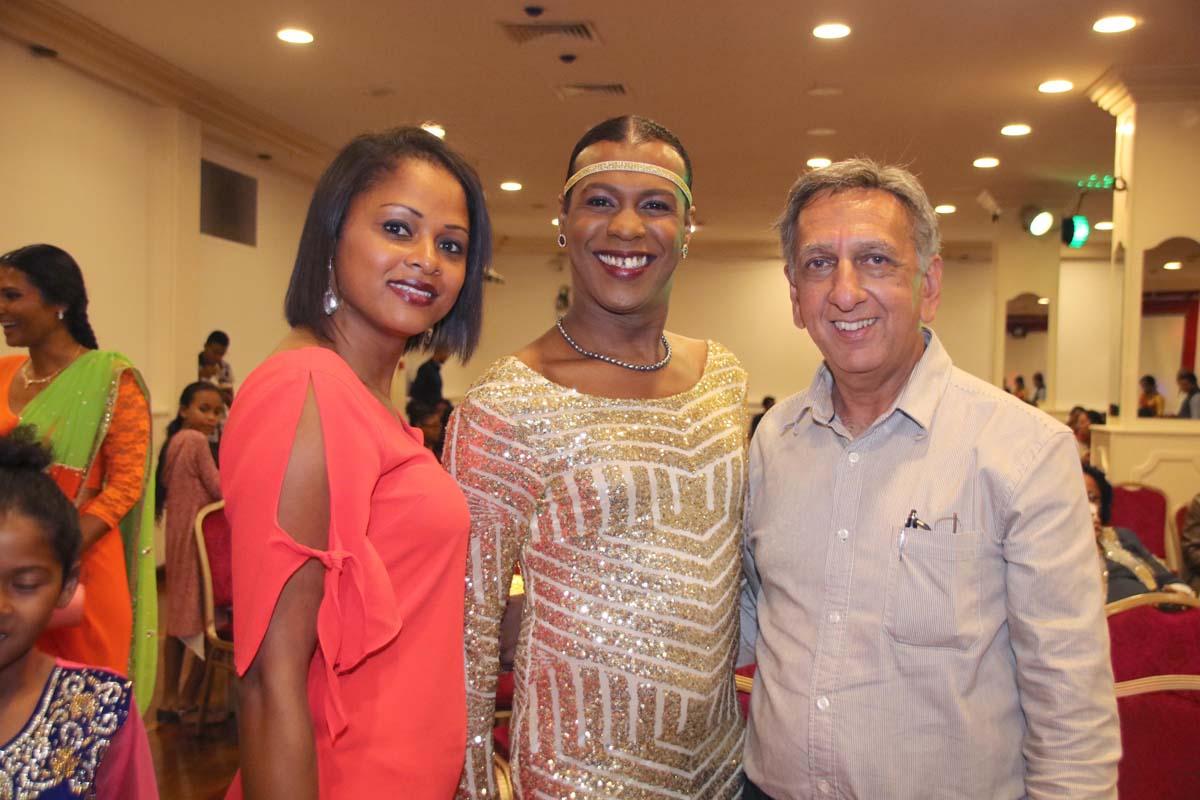 Natasha Basson, Pépita et Aziz Patel