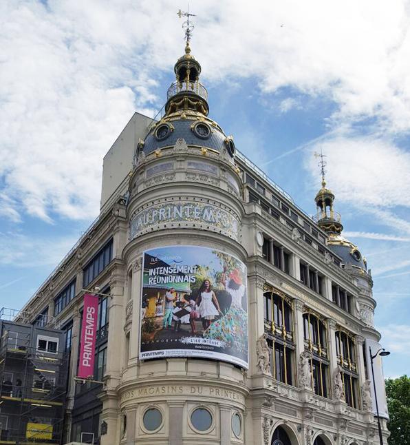 La Réunion s'affiche au Printemps à Paris