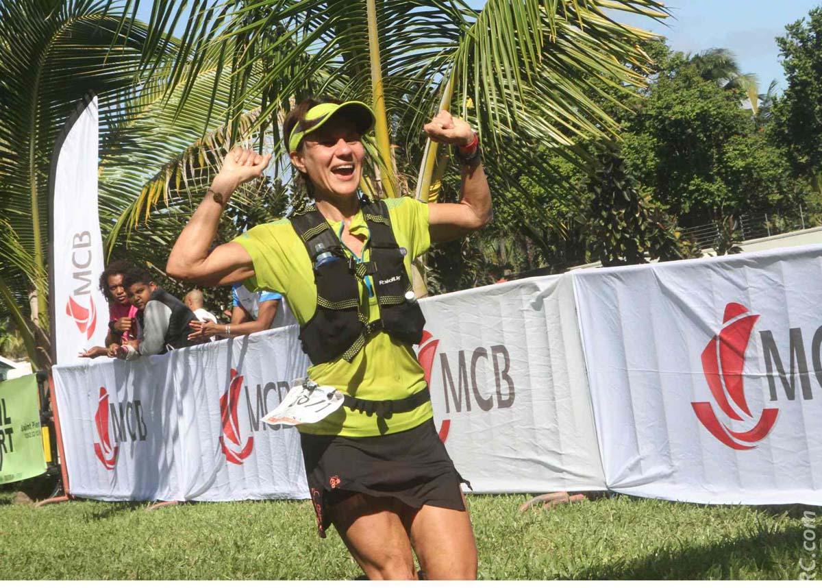 Imbattable sur l'épreuve-reine des 80km, Alexandra Clain savoure sa belle victoire après 8h 47' 30'' de course