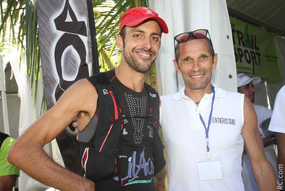 Francesco Cucco prend conseil auprès de Eric Lacroix