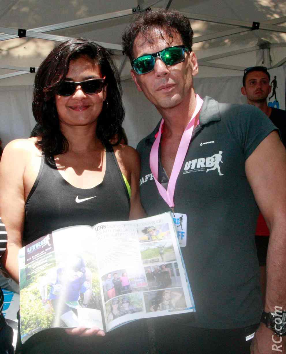 Arianne Bellepeau-Devienne et Chris Hamer, organisateurs de l'UTRB y ont trouvé leur compte