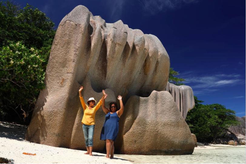 Les gagnantes du jeu Seychelles au paradis