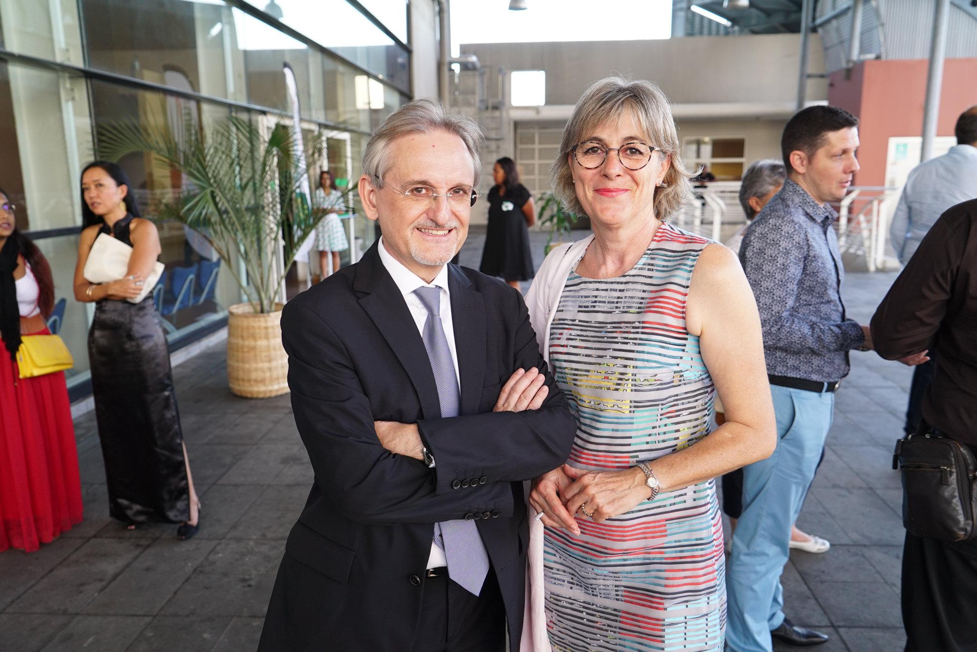 Alain Baudry et son épouse Christine