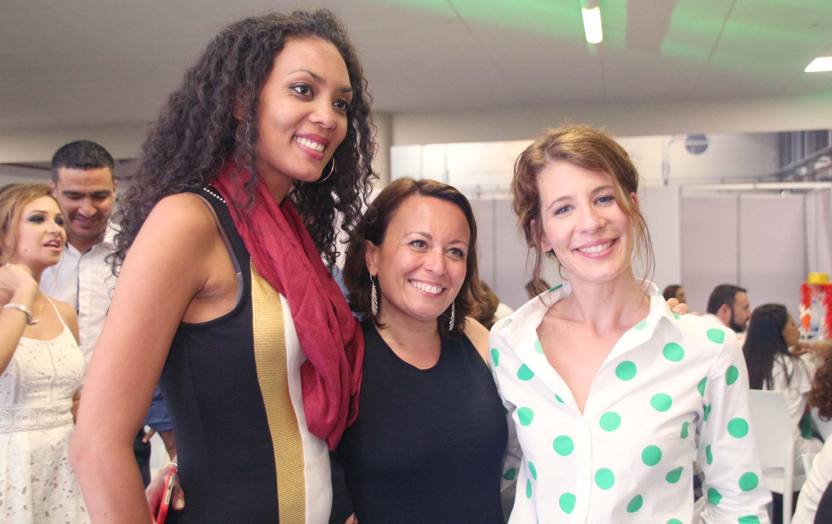 Gaëlle Séraphine, Aurélie Lazard de Goupama SA, et Cerise