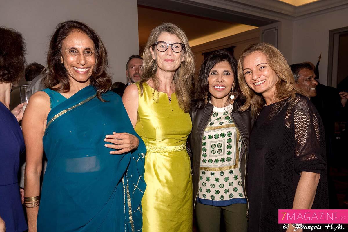 Léna Amourdom, Frédrique Sorain, Nassimah Dindar et Patricia Paoli