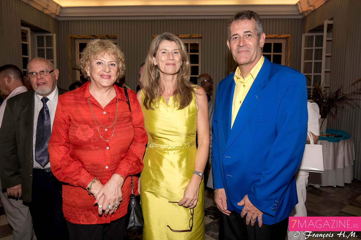 Carmen Allié, Frédérique Sorain, et Jimmy Allié
