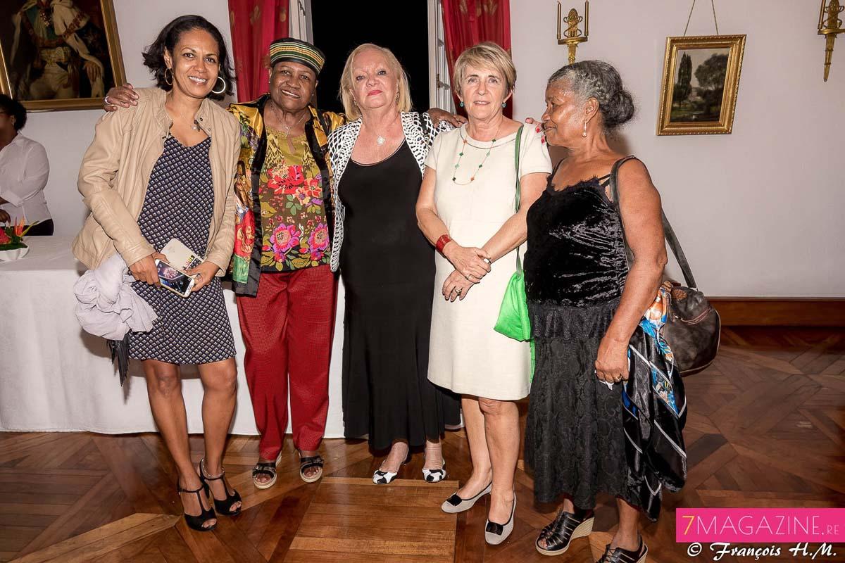 Sandra Salva, Françoise Guimbert, Madame Aude et des invitées